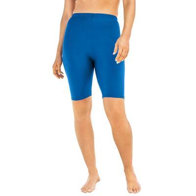 Plus Size Women's Swim Bike Short by Swim 365 in Dream Blue (Size 30)