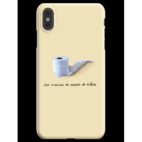 Dies ist kein Toilettenpapier. (Ceci n'est pas du papier de toilette.) iPhone XS Max Handyhülle