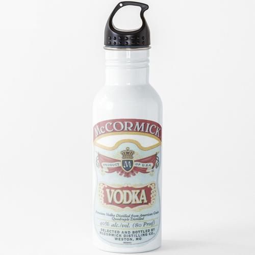 Wodka Wasserflasche