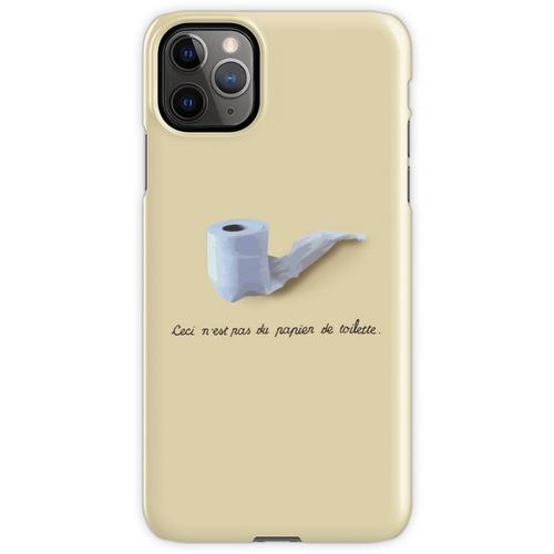 Dies ist kein Toilettenpapier. (Ceci n'est pas du papier de toilette.) iPhone 11 Pro Max Handyhülle
