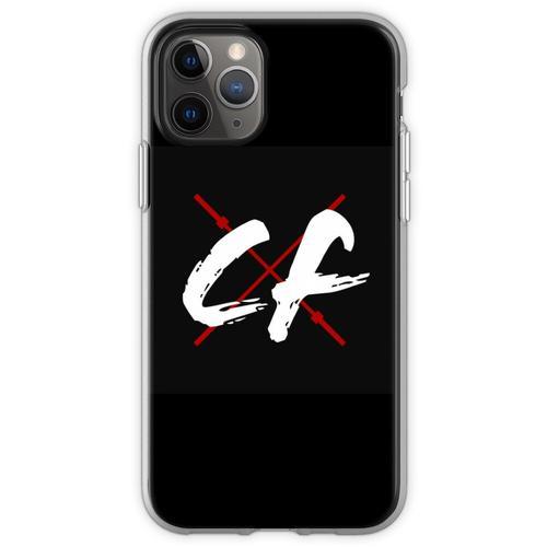 CrossFitters Logo - Langhantel - CrossFit Flexible Hülle für iPhone 11 Pro