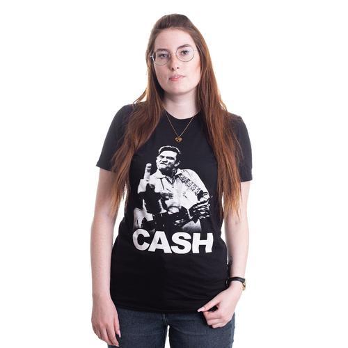 Johnny Cash - Finger - - T-Shirts
