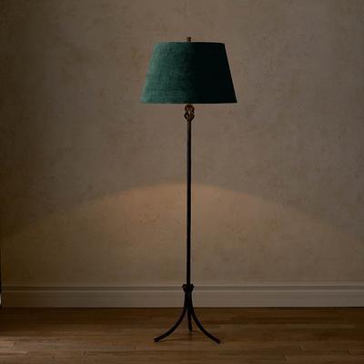 Keeley Black Floor Lamp - Ivy Ve...