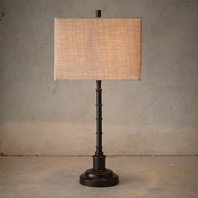 Kane Table Lamp - Linen - Frontgate