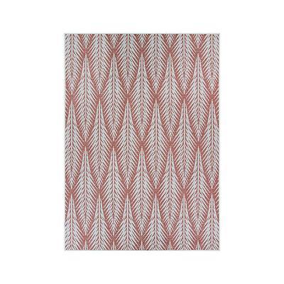 Meri Palm Indoor/Outdoor Rug - Terracotta, 9' x 13' - Frontgate