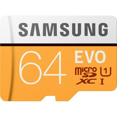 Samsung EVO 64GB micro SD Memory Card