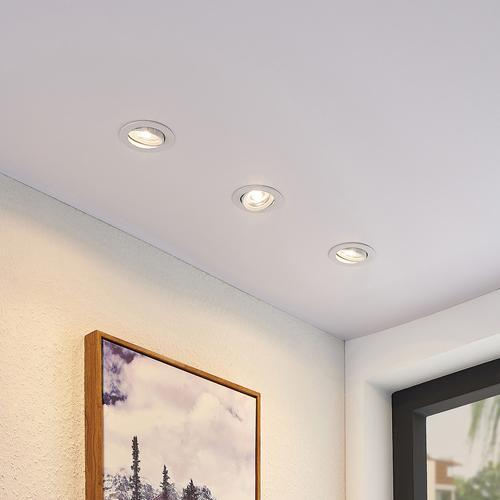 ELC Juno LED-Einbaustrahler 3er Set weiß, rund