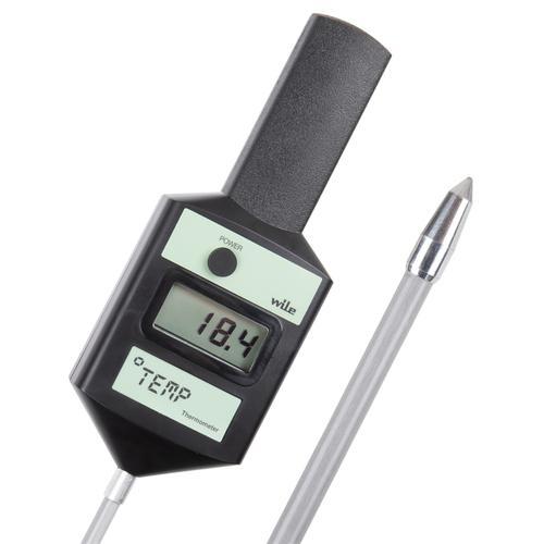 Wile TEMP - Digitales Temperaturmessgerät für Heu, Stroh, Späne und Getreide