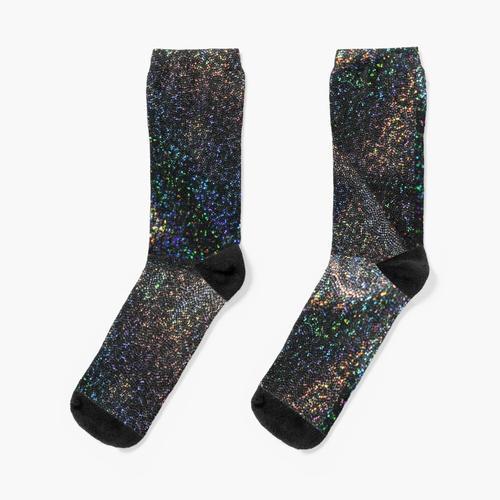 glitzernd Socken