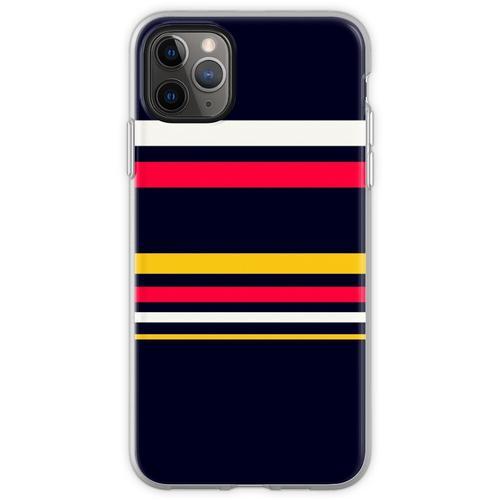 Flache Streifen Flexible Hülle für iPhone 11 Pro Max