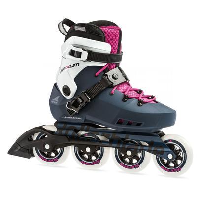 Rollerblade Women's Maxxum Edge 90 Inline Skates Navy/Raspberry
