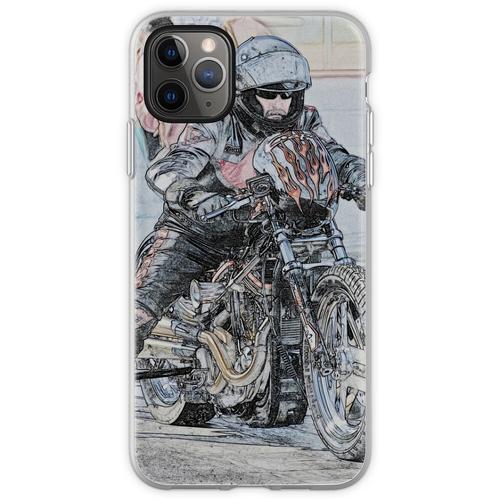 Harley Drag Fahrrad I Flexible Hülle für iPhone 11 Pro Max