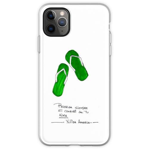 Komfort Sandalen Flexible Hülle für iPhone 11 Pro Max