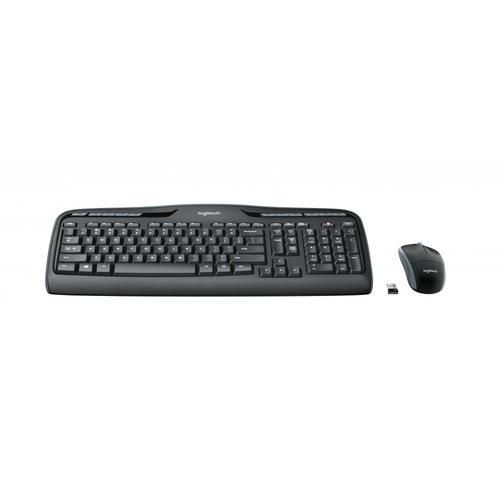 Logitech MK330 Set, Tastatur und Maus, kabellos DE