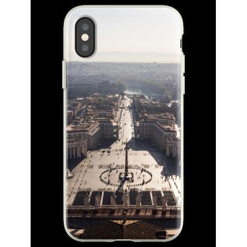 Petersplatz Flexible Hülle für iPhone XS