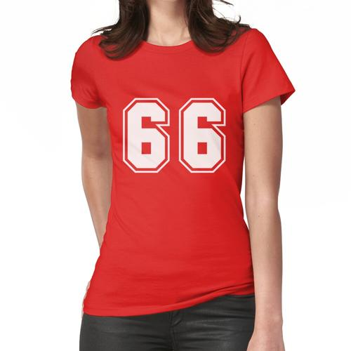 sechsundsechzig Frauen T-Shirt