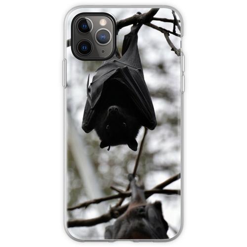 Fledermäuse, Fledermäuse, Fledermäuse Flexible Hülle für iPhone 11 Pro Max
