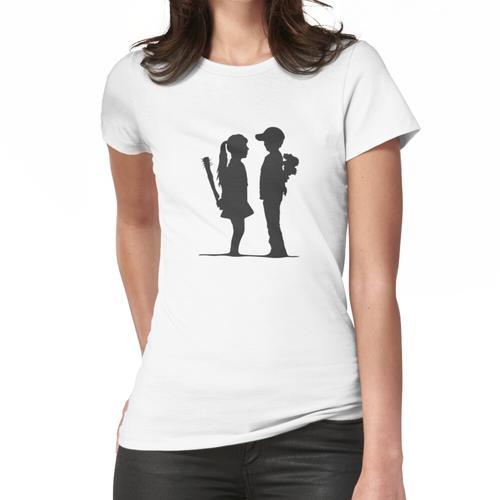 Banksy Kinder Frauen T-Shirt