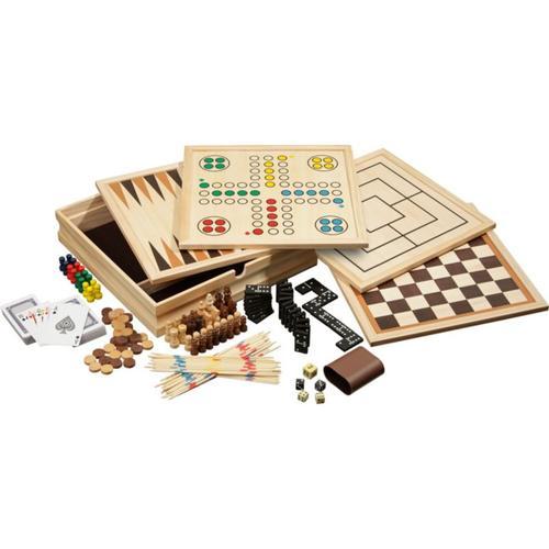 Spielesammlung Holz medium