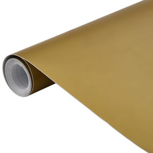 vidaXL Autofolie Matt Golden 500 x 152 cm