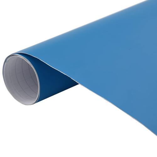 vidaXL Autofolie Matt Blau 500 x 152 cm
