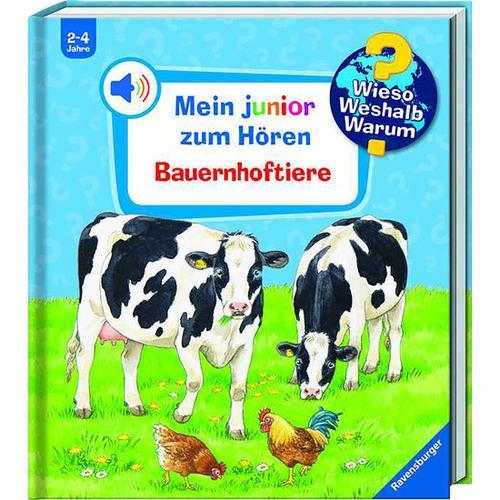 WWW Mein junior zum Hören: Bauernhoftiere, bunt