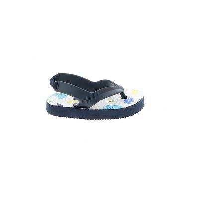Flip Flops: Blue Shoes - Size 3
