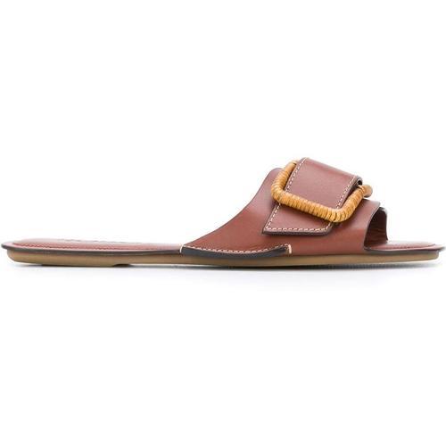 Rodo Flache Sandalen mit Schnalle