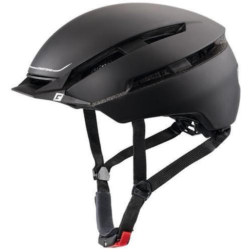 Cratoni Fahrradhelm City-Fahrradhelm C-Loom schwarz Rad-Ausrüstung Radsport Sportarten