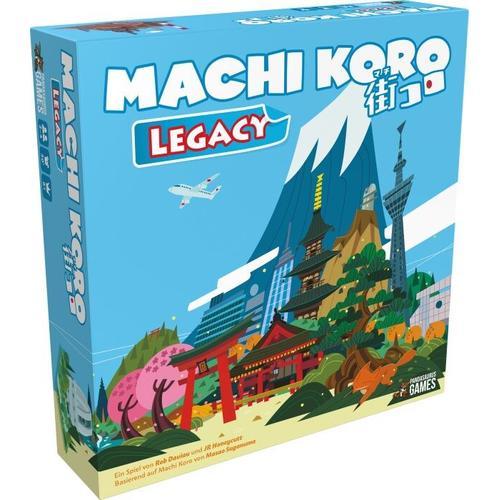 Asmodée Machi Koro Legacy, Gesellschaftsspiel