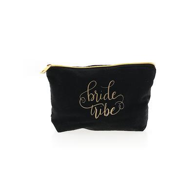 Makeup Bag: Black Solid Accessories