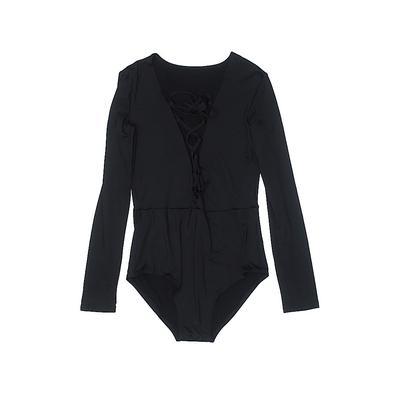 Bodysuit: Black...