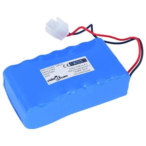 vidaXL Ersatz-Lithium-Ionen-Akku 4,4Ah 24V für Roboter-Rasenmäher