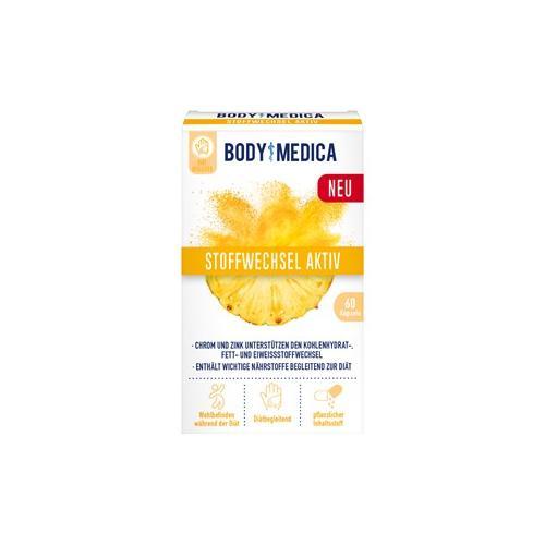 Body Medica Gesundheit Diätbegleiter Stoffwechsel Aktiv 60 Stk.