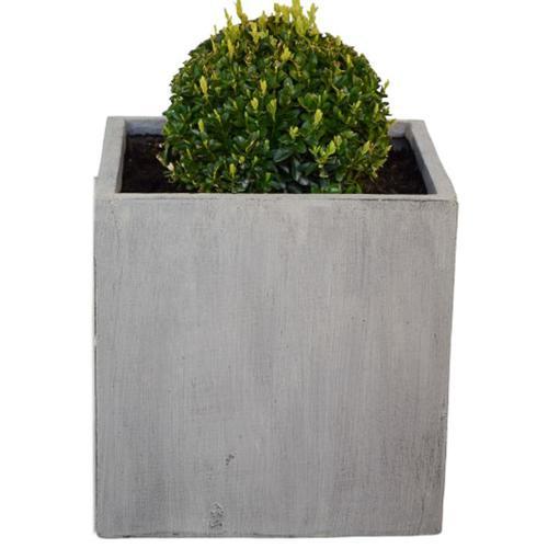 """Blumenkübel Blumenkasten Blumentopf Pflanzentopf """"Mainau"""" 50x50x50 cm Betonoptik Dekoration Garten"""