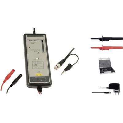 Pointe de touche différentielle Testec TT-SI 9101 TT-SI 9101 100 MHz 10:1, 100:1 1400 V 1 pc(s)