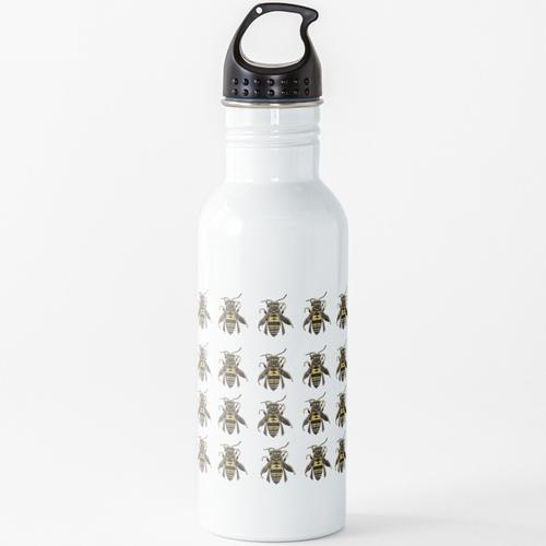 Honigbiene Wasserflasche