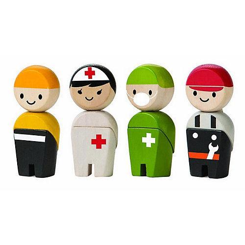 Planworld Spielfiguren Rettungsteam Spielfigurensets mehrfarbig