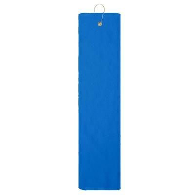 Pro Towels TRU35TF Platinum Collection Golf Towel in Coastal Blue   Cotton