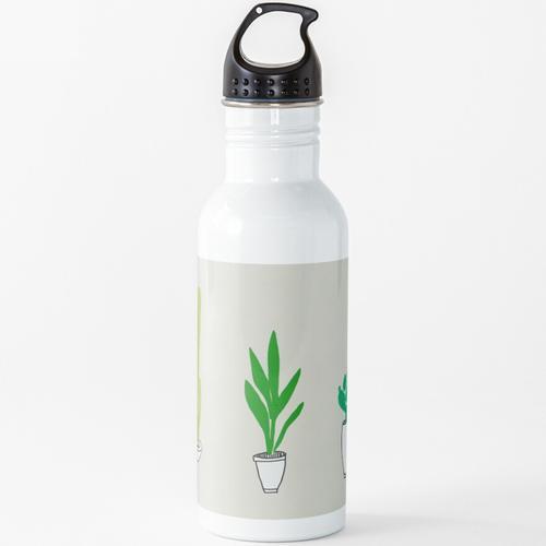 Topfpflanzen Wasserflasche