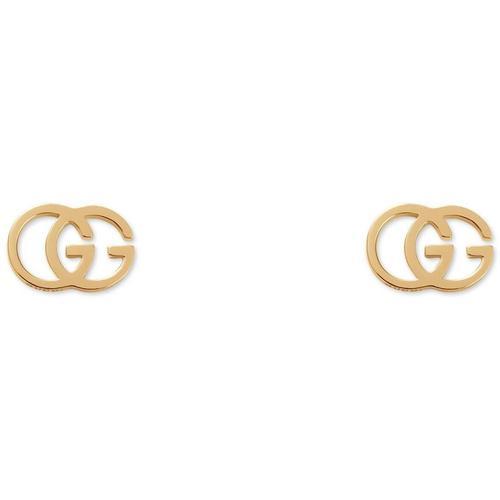 Gucci Ohrstecker mit GG-Gewebe