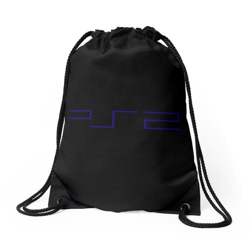 PlayStation 2 - PS2-Logo Rucksackbeutel