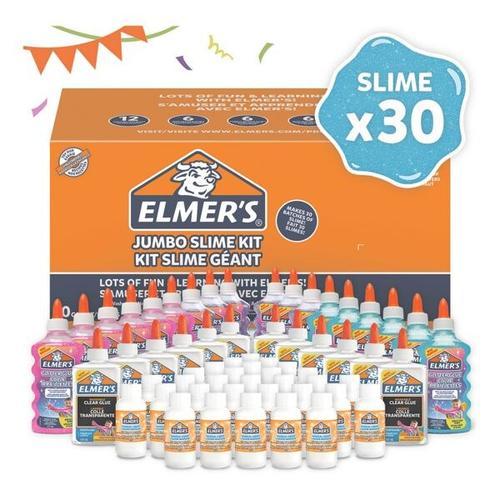 60-tlg. Bastelkleber-Set für Schleimherstellung »Party Slime Kit«, ELMER S