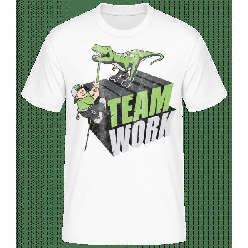 Dino Team Work - Basic T-Shirt