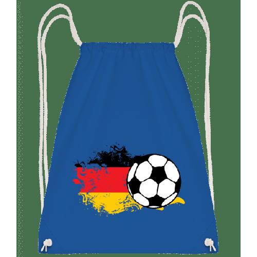 Deutschland Fahne Fußball - Turnbeutel
