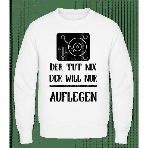 Der Tut Nix nur Auflegen - Männer Pullover
