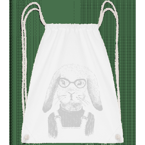 Hipster Hase - Turnbeutel