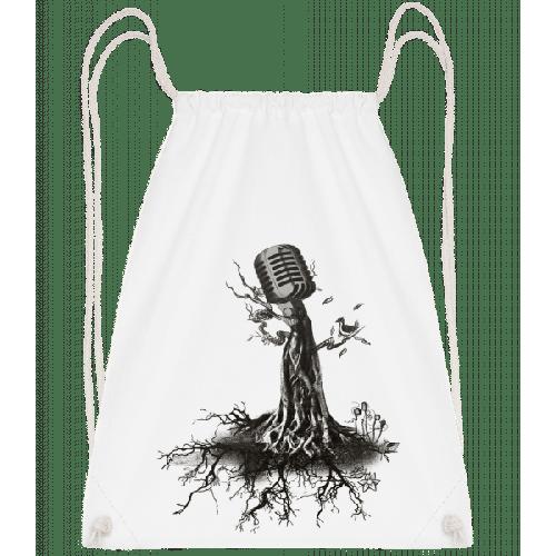 Mikrofon Baum - Turnbeutel