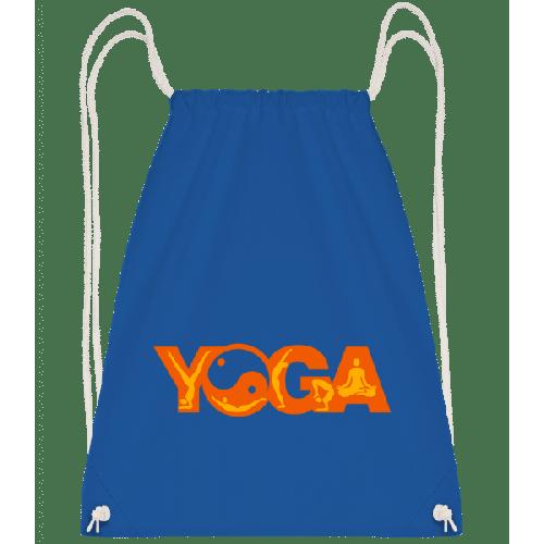 Yoga Sign Orange - Turnbeutel