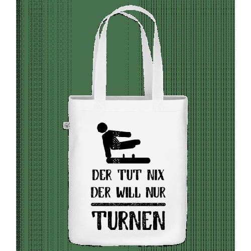 Der Tut Nix Nur Turnen - Bio Tasche
